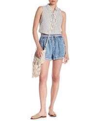 Skies Are Blue - Acid Wash Shorts - Lyst