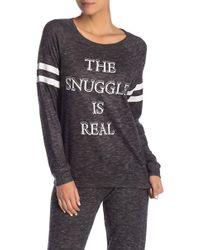 Pj Salvage - Printed Knit Sweater - Lyst