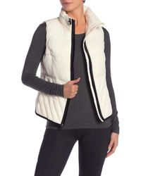 Marc New York - Solid Insulated Packable Hooded Vest - Lyst