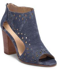 Very Volatile - Tevy Grommet Block Heel Sandal - Lyst