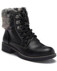 Sporto - Sanover Faux Fur Boot - Lyst