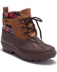 Dirty Laundry - Belladonna Plaid Waterproof Rain Boot - Lyst
