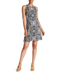 Karen Kane - Printed Sleeveless Dress - Lyst