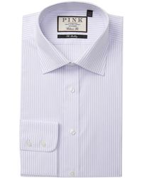 Thomas Pink - Llewellyn Stripe Classic Fit Dress Shirt - Lyst