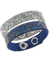 Swarovski - Crystal Rock Bracelet Set - Lyst