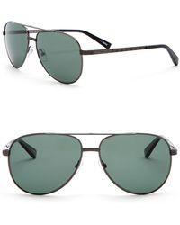 Z Zegna - Women's Polarized 60mm Aviator Sunglasses - Lyst