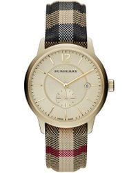 Burberry - Men's Honey Horeseferry Watch - Lyst