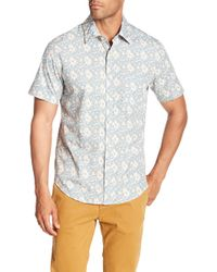 Kennington - Redondo Short Sleeve Print Shirt - Lyst