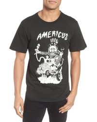 Barking Irons - Engine Americus Graphic T-shirt - Lyst