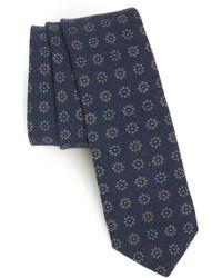 Eleventy - Floral Wool Tie - Lyst