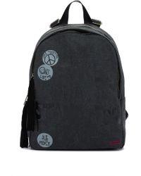 Peace Love World - Double Suede Tassel Backpack - Lyst
