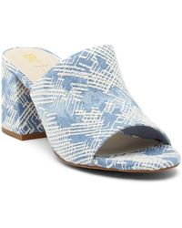 BC Footwear - Shark Attack Embroidered Mule - Lyst