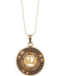 ALEX AND ANI - Numerology Number 2 Charm Adjustable Necklace - Lyst
