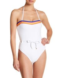 87c35a2c06ec6 Vigoss - French Terry One-piece Swimsuit - Lyst