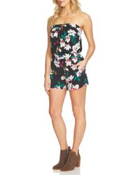 1.STATE - Strapless Romper - Lyst