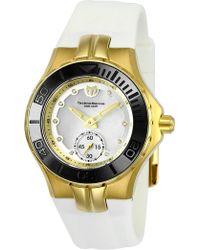 TechnoMarine - Women's Cruise Ceramic Diamond Sport Watch - 0.50 Ctw - Lyst