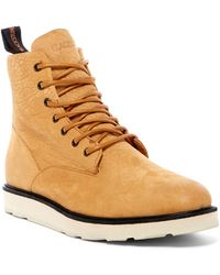 Blackstone - Leather High Top Trainer - Lyst