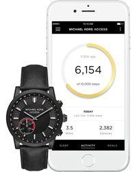 Michael Kors - Men's Hutton Casual Smartwatch, 43mm - Lyst