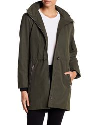 SOIA & KYO - Cinch Hooded Rain Resistant Anorak - Lyst