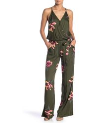 On The Road - Florence Floral Jumpsuit - Lyst
