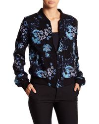 Fifteen Twenty - Embroidered Bomber Jacket - Lyst