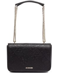 Love Moschino - Embossed Shoulder Bag - Lyst