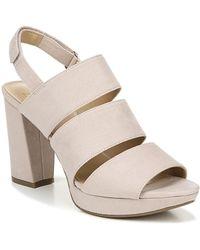 d4b0ec0420b Naturalizer - Freema Block Heel Sandal - Wide Width Available - Lyst