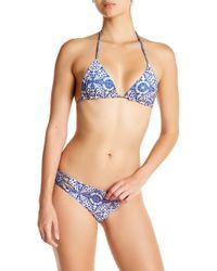 Gypsy 05 - Zuma Fit Reversible Triangle Bikini Top - Lyst