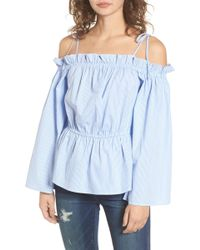 4si3nna - Off The Shoulder Top - Lyst