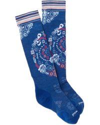 Smartwool - Phd Ski Light Pattern Knee High Socks - Lyst