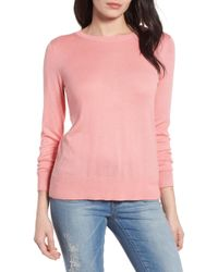 Halogen - Bow Back Jumper (regular & Petite) - Lyst