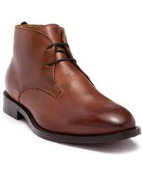 H by Hudson - Lewiston Leather Chukka Boot - Lyst