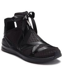 04e70022311154 PUMA - Fierce Rope Satin En Pointe High Top Sneaker - Lyst