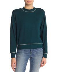June & Hudson - Stitch Detail Sweater - Lyst