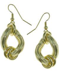 1AR By Unoaerre - Textured Earrings - Lyst