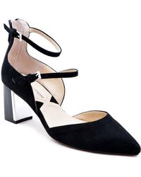 Adrienne Vittadini - Noble Suede D'orsay Pump - Lyst