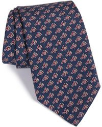 Vineyard Vines - 'atlanta Braves - Mlb' Print Silk Tie - Lyst