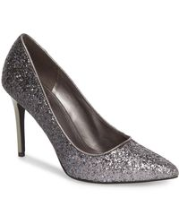 97433430f6 MICHAEL Michael Kors Claire Satin Dress Pumps in Red - Lyst