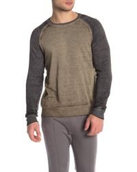 Threads For Thought - Long Sleeve Burnout Raglan Pullover - Lyst