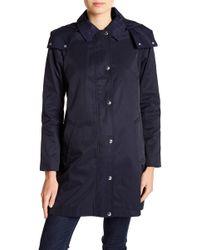 Tommy Hilfiger - Packable Hood Raincoat - Lyst