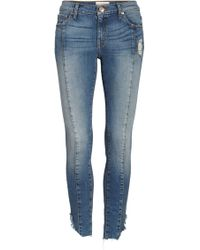 Band Of Gypsies - Lola Front Seam Skinny Jeans - Lyst