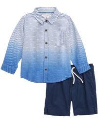 Sovereign Code - Capitola/gateway Shirt & Shorts Set (baby Boys) - Lyst
