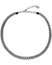 Uno De 50 - Morphine Polished Beaded Necklace - Lyst