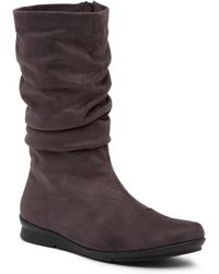 Bussola - 'concord' Ruched Boot (women) - Lyst