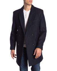 Michael Kors - Wool Blend Twill Coat - Lyst