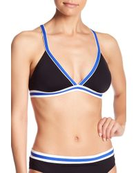 Nautica - Cross Back Bra - Lyst