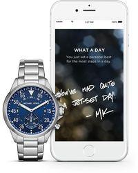 Michael Kors - Men's Gage Stainless Steel Bracelet Smartwatch, 44mm - Lyst