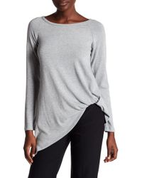 Karen Kane - Asymmetric Pick Up Sweater - Lyst