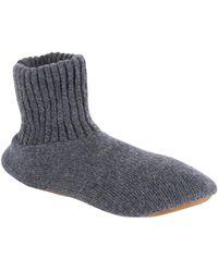 Muk Luks - Ragg Wool Blend Slipper - Lyst