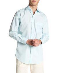 Peter Millar - Summer Stripe Print Regular Fit Shirt - Lyst
